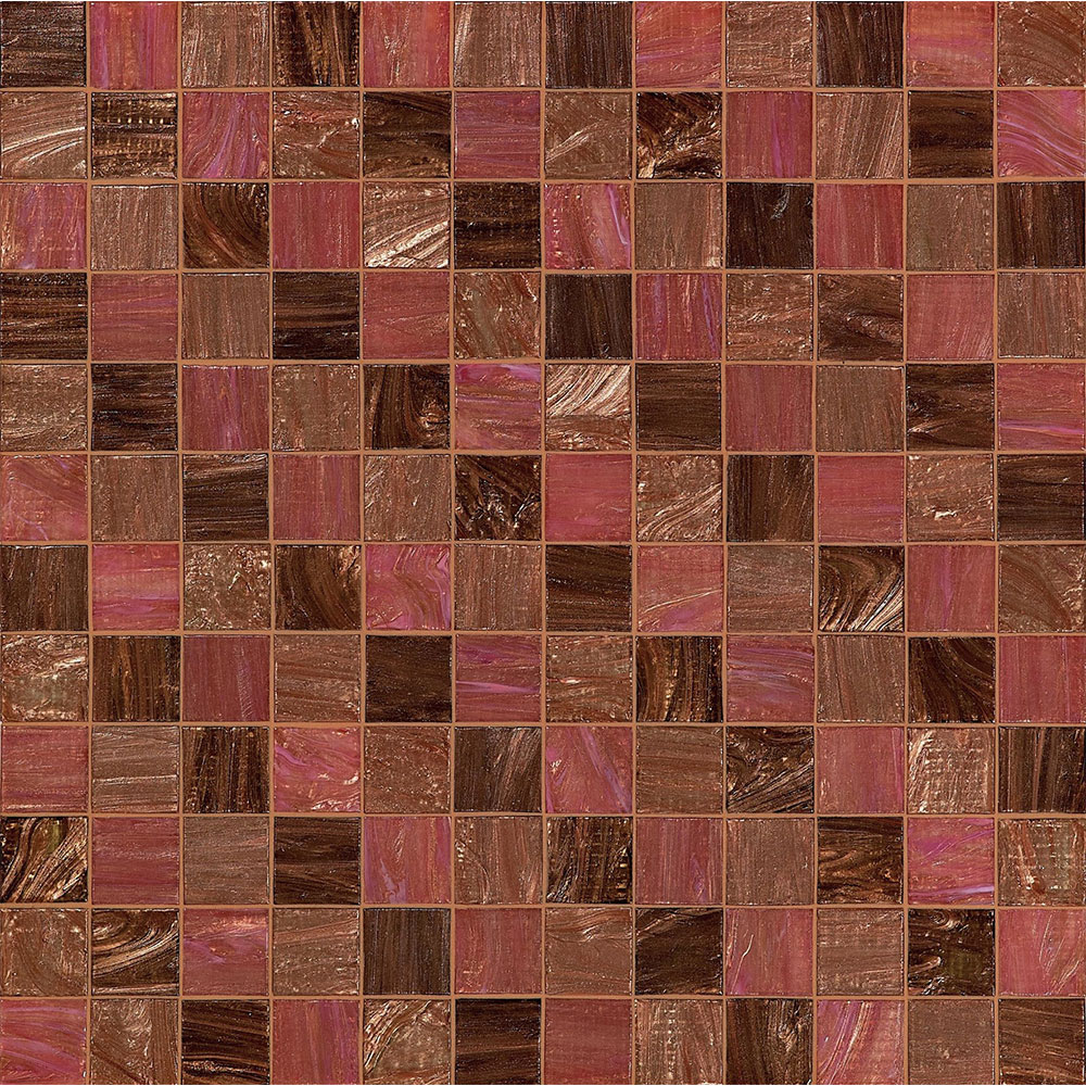 Bisazza Mosaico Decorations 5 x 5 Steps Rose