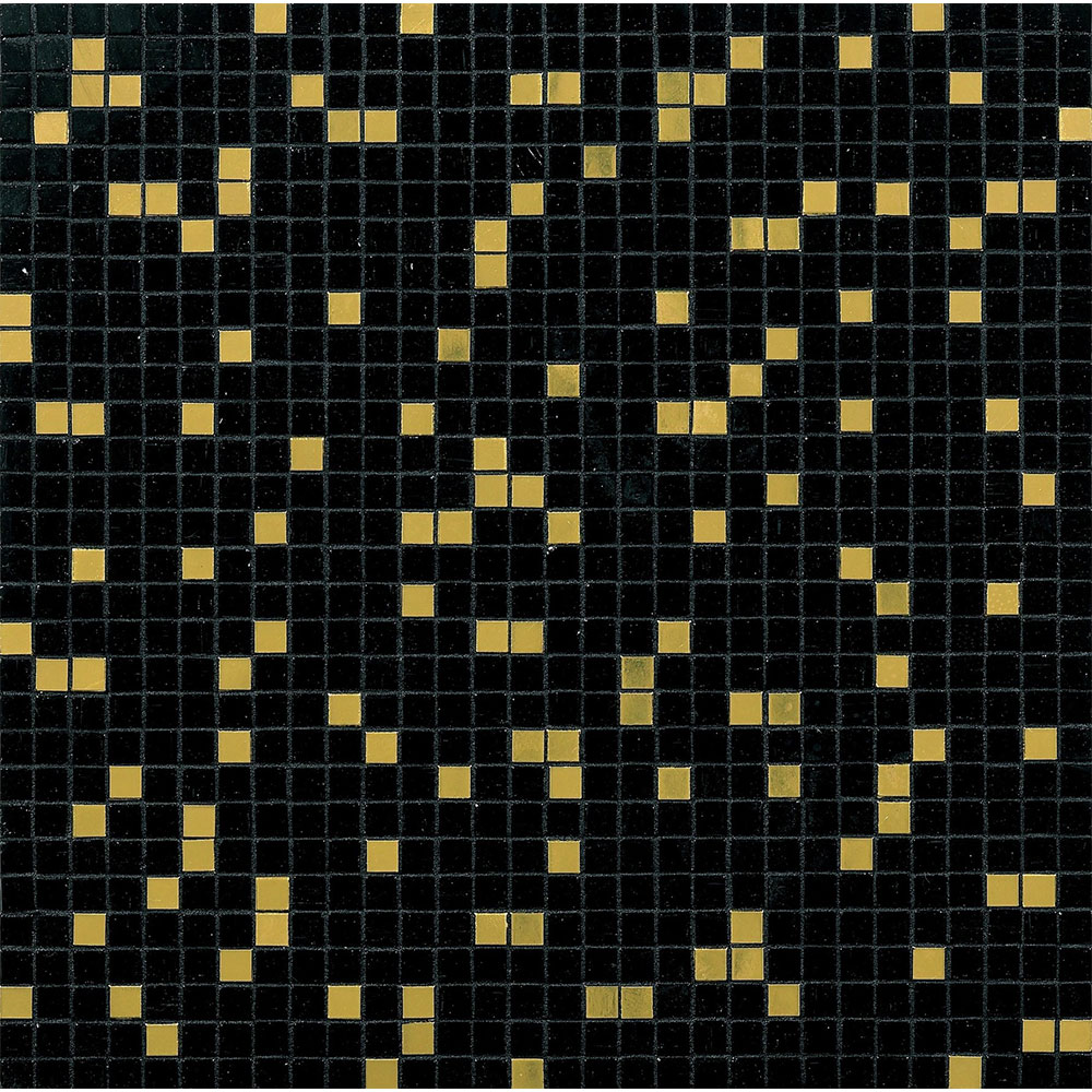 Bisazza Mosaico Blends 10 Prince Black