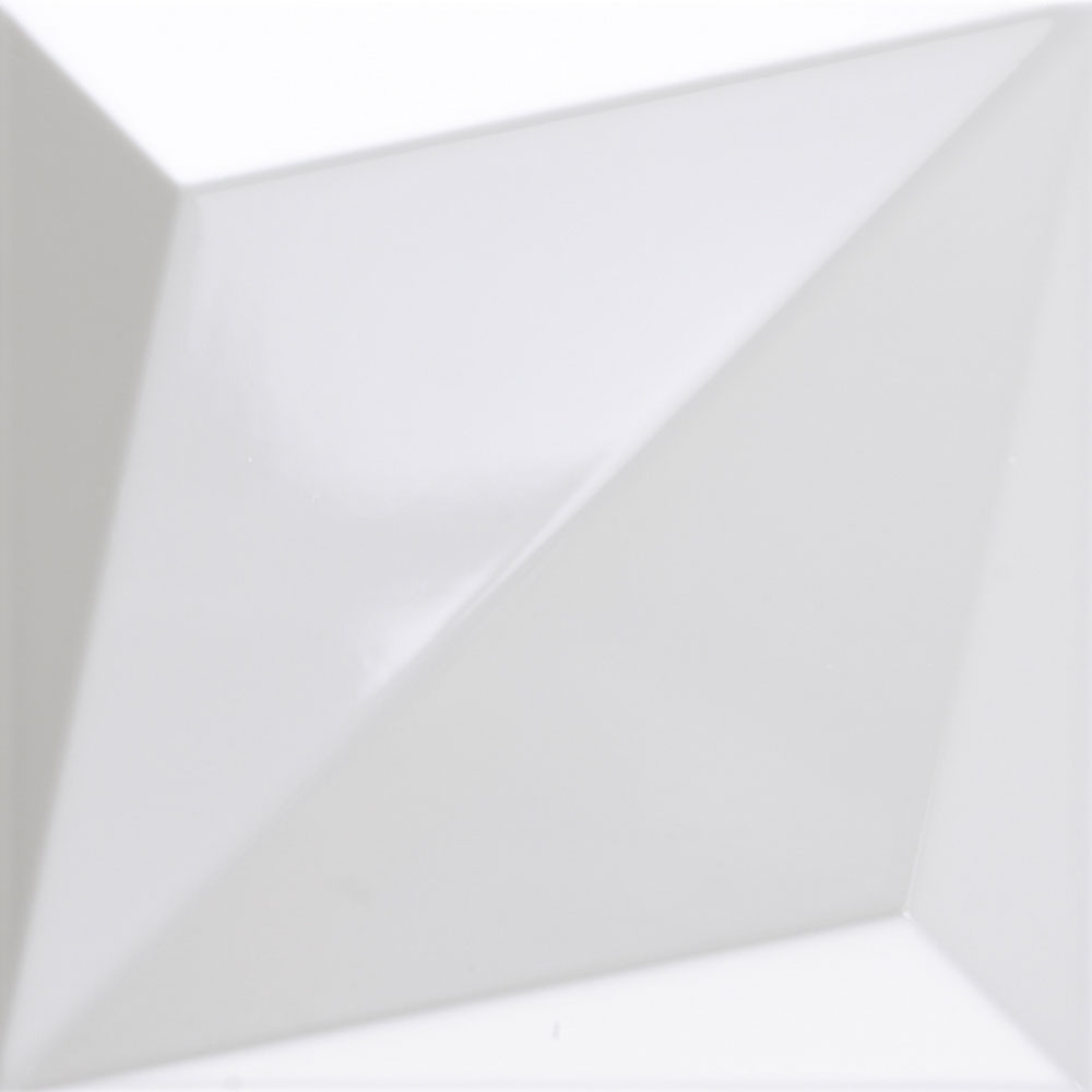 Dune Megalos Shapes Origami White Gloss