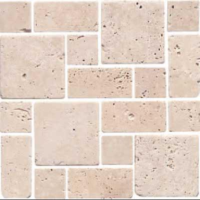 Florida Tile Pietra Art Stone Roman Pattern Mosaic Tile Stone Colors