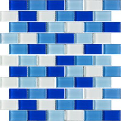 Florida Tile Vitraart Harmony 1 X 2 Mosaic Tile Stone Colors