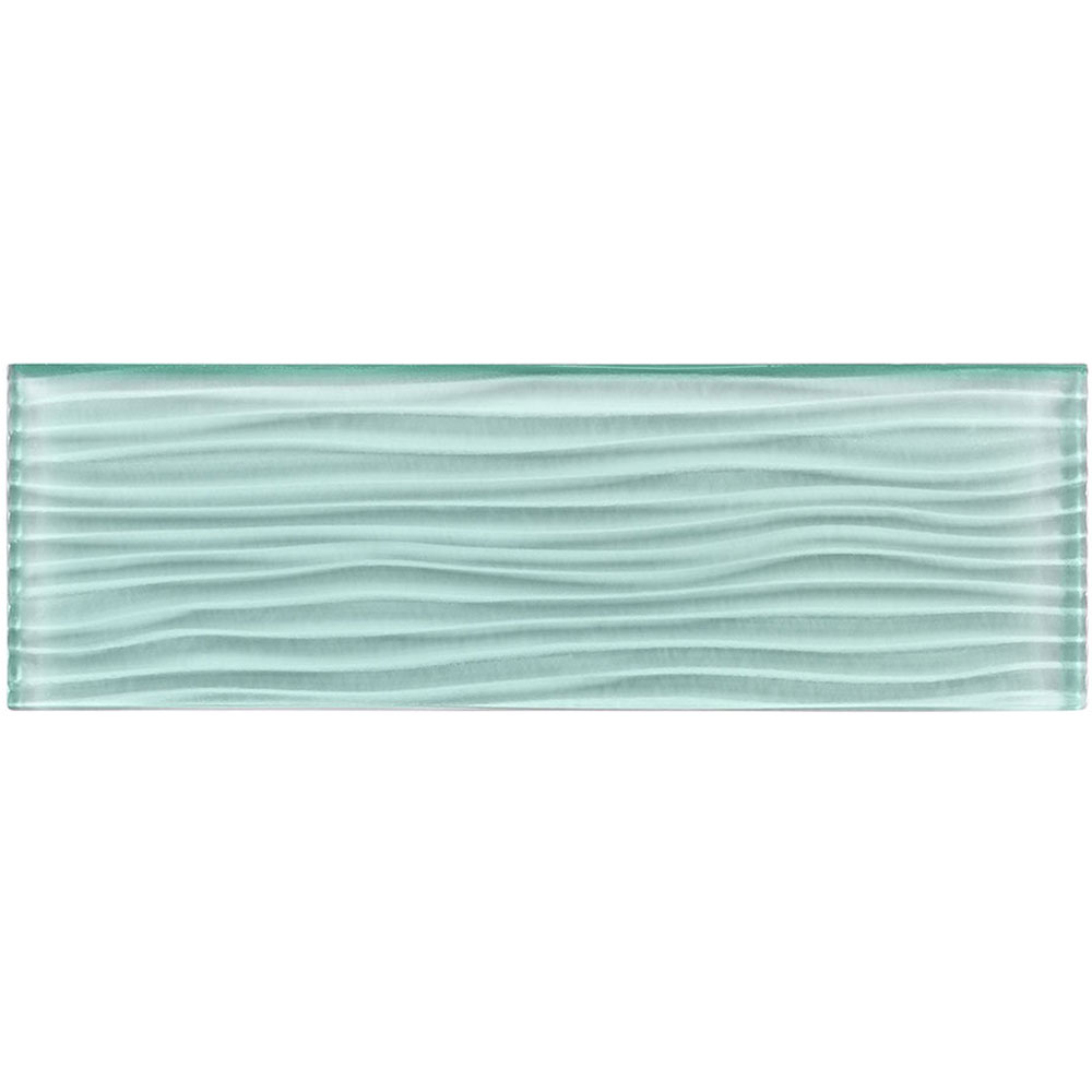 M-Glass Crystile Wave Soft Mint