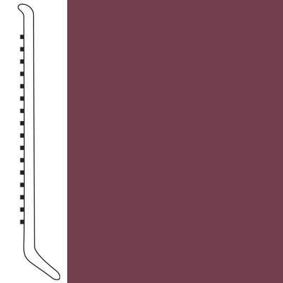 Forbo Wallbase Cove 4-inch Plum