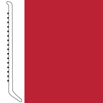 Forbo Wallbase Cove 4-inch Rojo Red