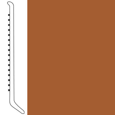 Forbo Wallbase Cove 4-inch Rust
