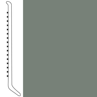 Forbo Wallbase Cove 4-inch Sill Green