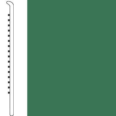 Forbo Wallbase Straight 4-inch Meadow Green