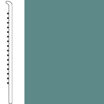 Forbo Wallbase Straight 4-inch Miami Green