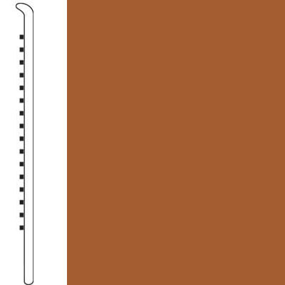 Forbo Wallbase Straight 4-inch Rust