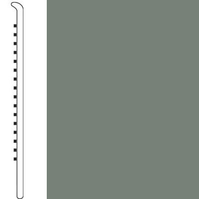 Forbo Wallbase Straight 4-inch Sill Green