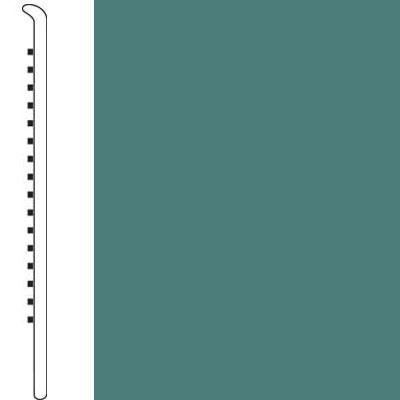 Forbo Wallbase Straight 4-inch Teal