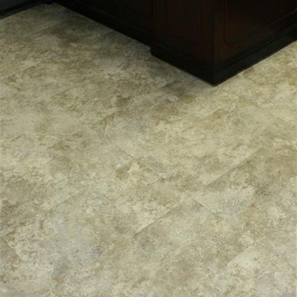 SFI Floors Grandstand Tile 20MIL Stippled Gray